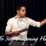 image - how to stop postponing success