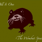 All is one the wombat speaks video image